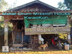 Metal Drum Mission House KwaeKoh