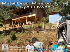 Metal Drum Mission House NyaLiKwee